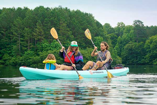 Tandem Kayak Rentals for Groups/Corporate Events