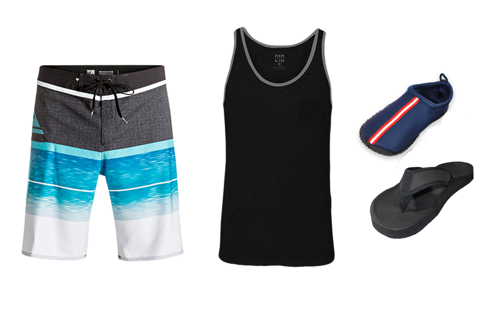 What clothes to bring for kayaking/paddleboarding