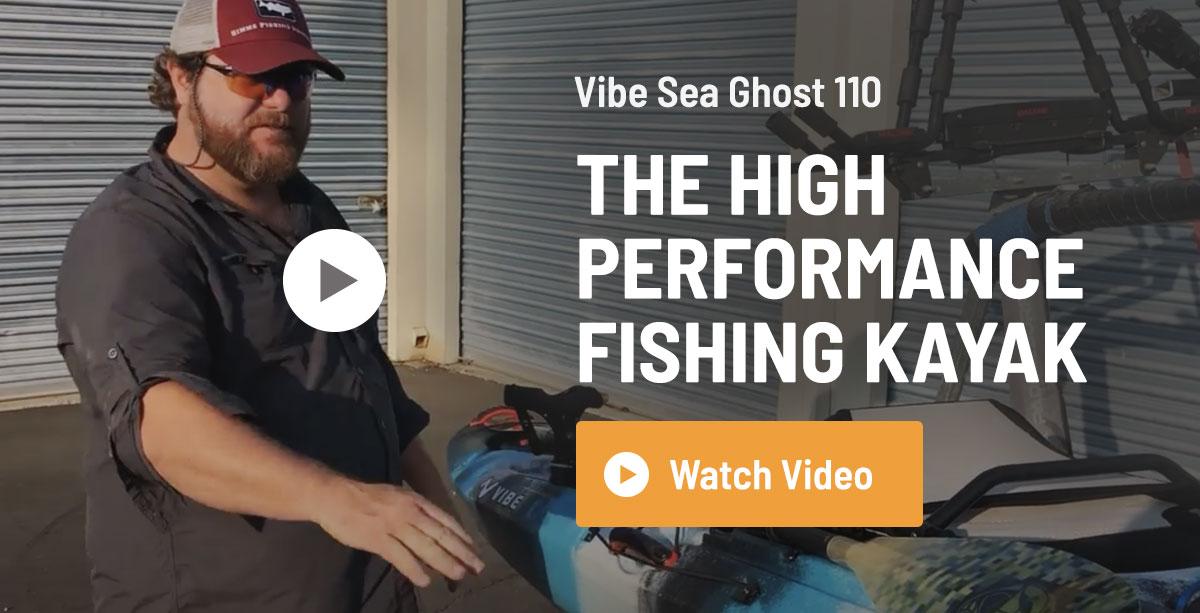Vibe Sea Ghost 110 Fishing Kayak Review